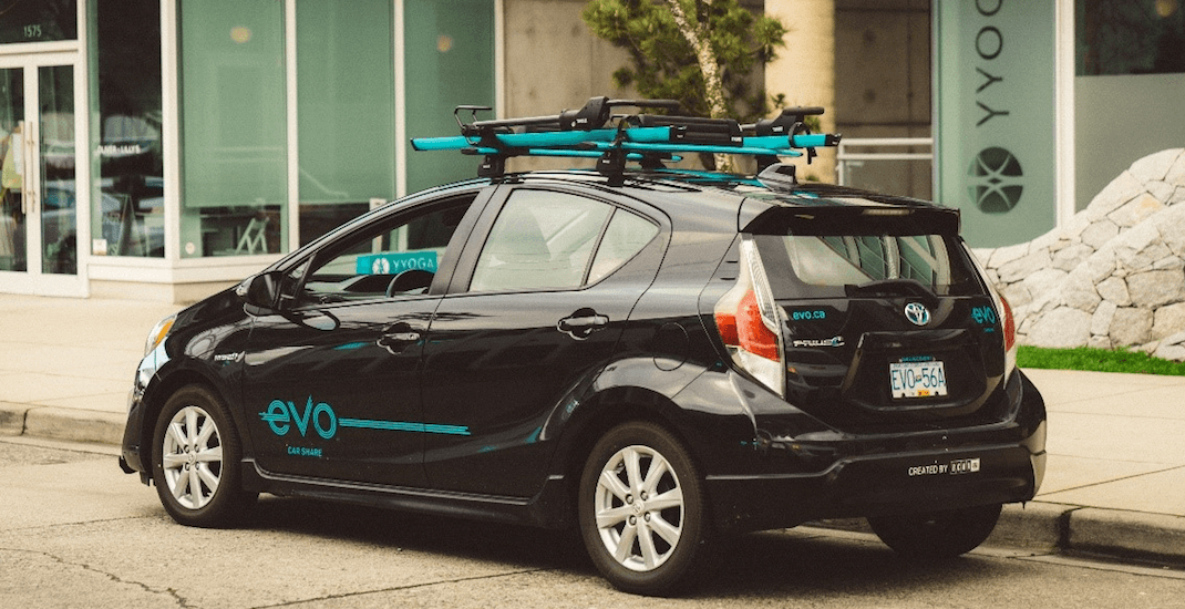 Evo car share members can now park at meters for free in Vancouver