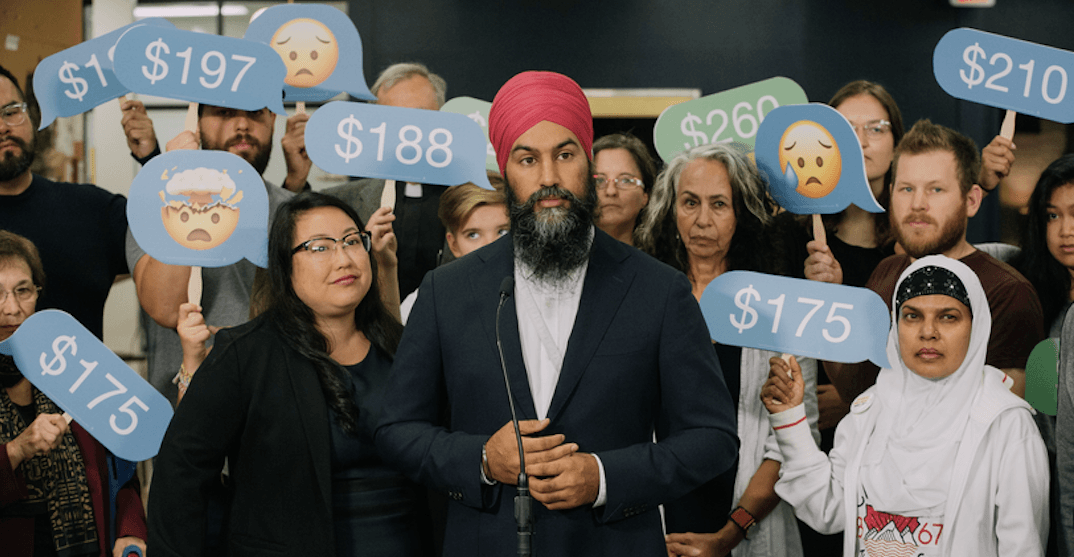 Jagmeet Singh says NDP government plans to cap cell phone and Internet prices