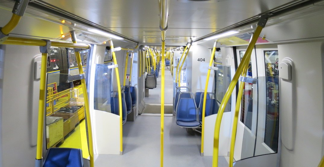 TransLink finds public support for interior design upgrades in new SkyTrain cars