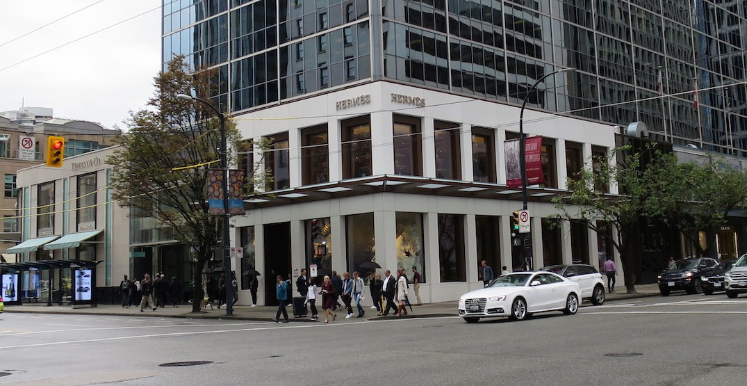 Hermès opens its new two-storey flagship store in downtown Vancouver (PHOTOS)