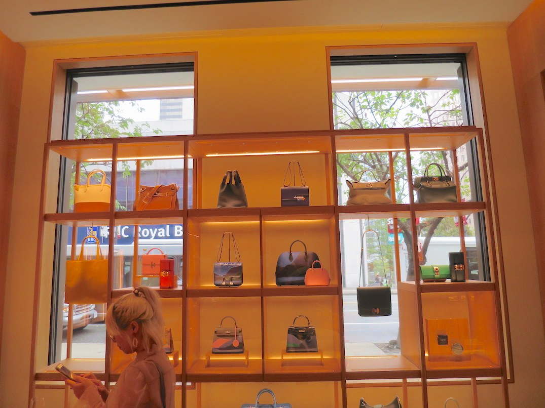 Hermes Vancouver Store