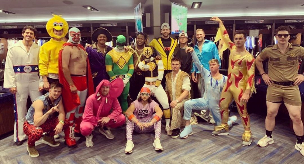 Ranking the Blue Jays' rookie dress-up day costumes (PHOTOS)