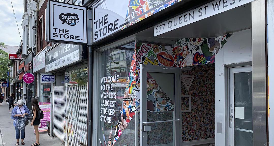 World's largest sticker store is now open in Toronto