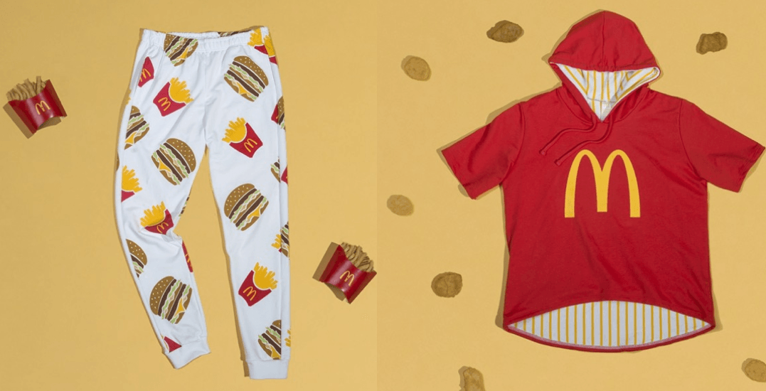 McDonald's just launched a clothing line with local Toronto brand