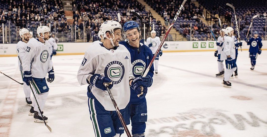 The Vancouver Canucks are playing 2 games tonight