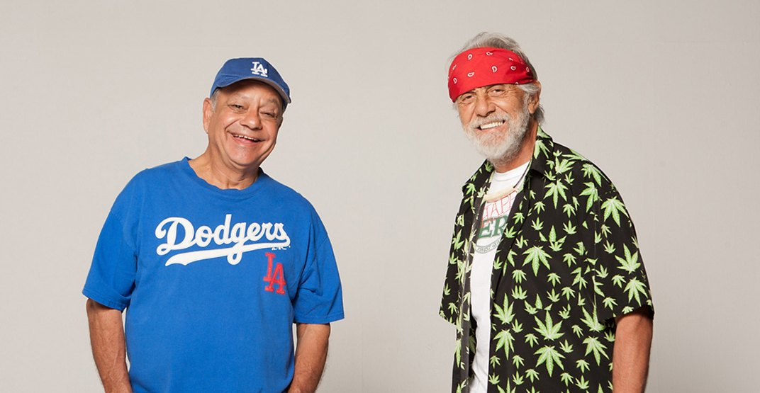Cheech & Chong are bringing their O Cannabis Tour to Calgary next month