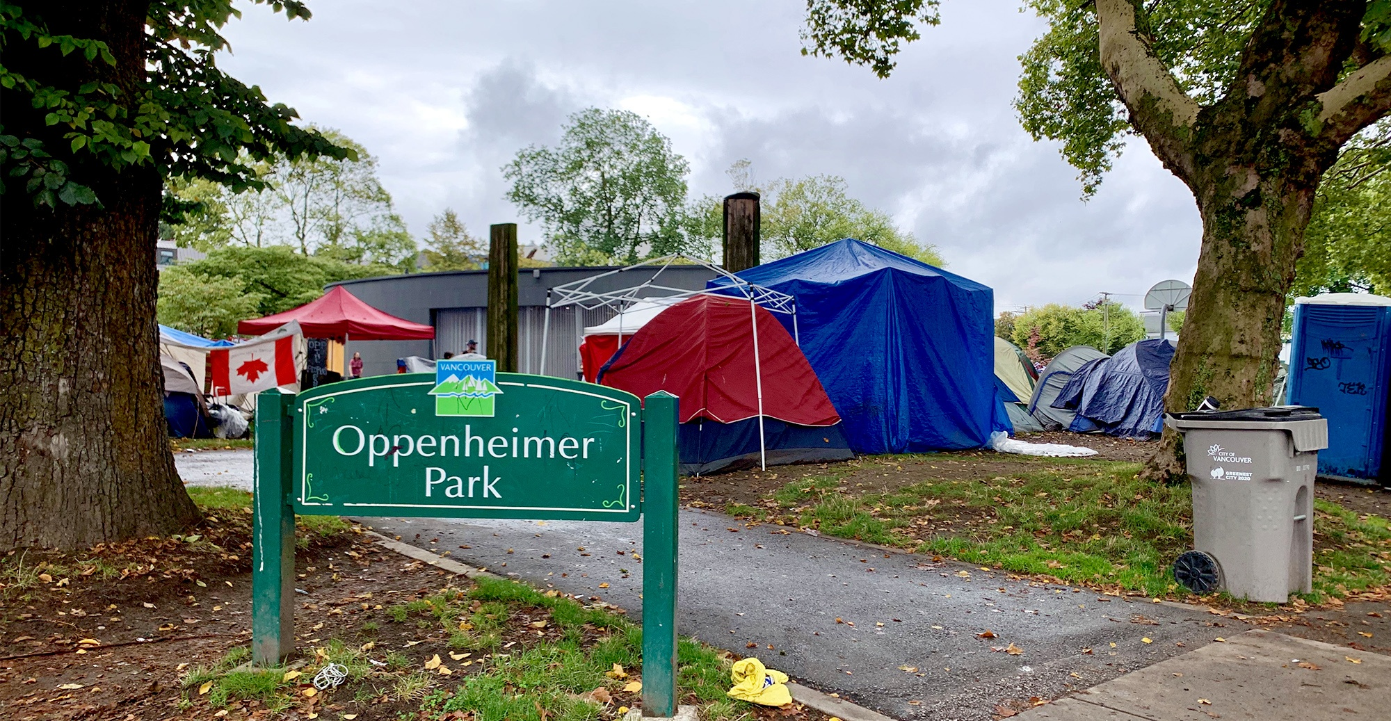 "Vancouver Park Board to seek ""conditional"" injunction to clear Oppenheimer Park campers"