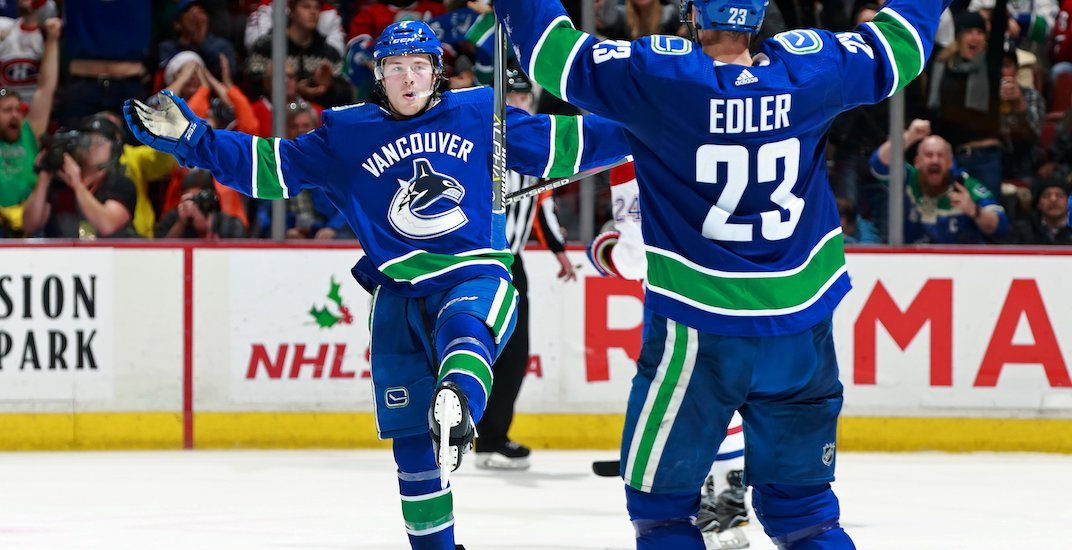 Canucks re-sign Brock Boeser to a 3-year contract
