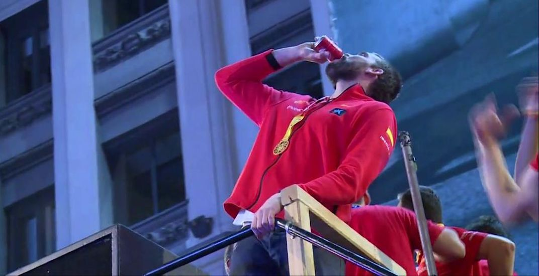 Raptors' Marc Gasol was the star of another championship parade