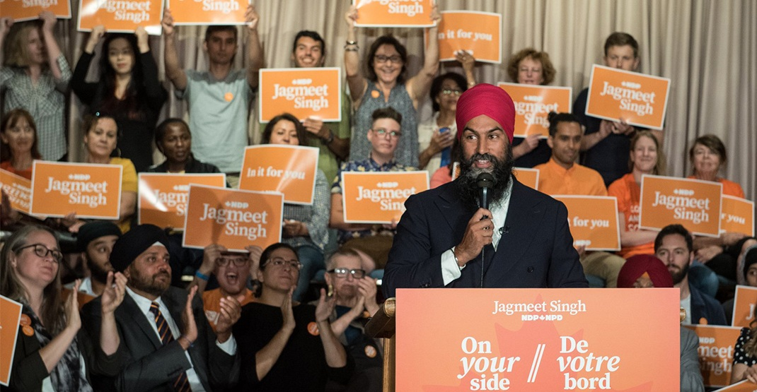 Jagmeet Singh promises to abolish Canadian Senate if NDP form government