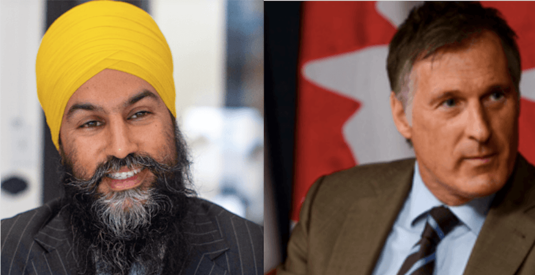 NDP files complaint over PPC leader being allowed into debates