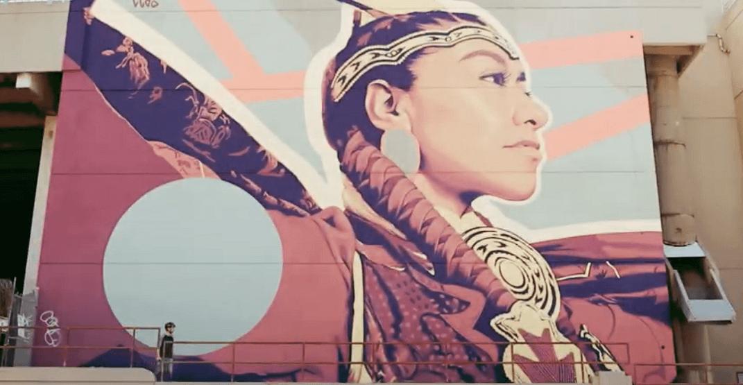 Former Stampeder makes mesmerizing video of Beltline's murals (VIDEO)