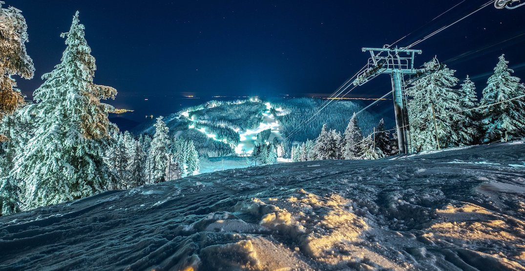560 LED lights to be installed on Cypress Mountain for improved night skiing