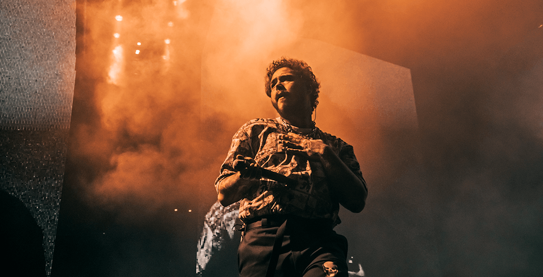 Post Malone kicks off Runaway Tour in Vancouver (PHOTOS)