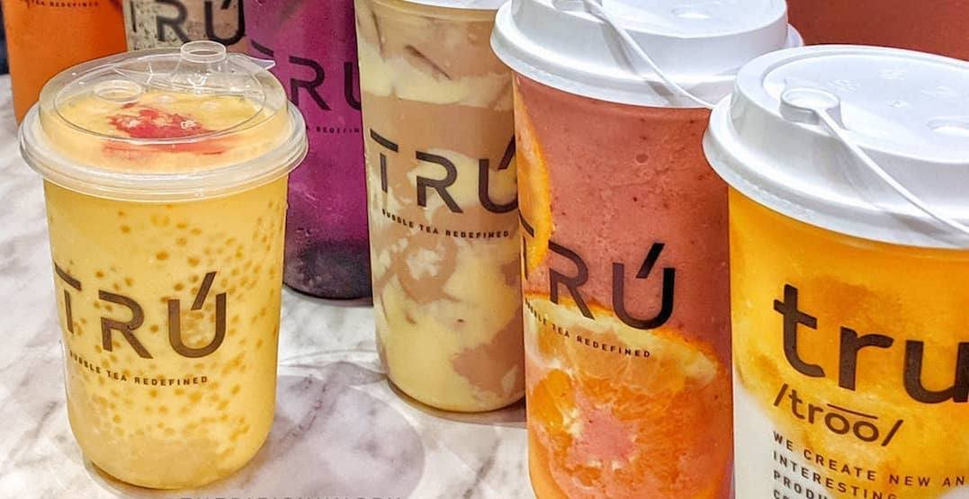 New downtown bubble tea shop serving buy-one-get-one drinks this week