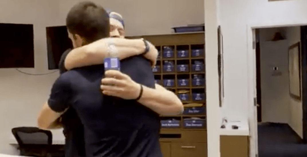 Boeser reunites with Horvat for a bromance Canucks fans can't get enough of (VIDEO)