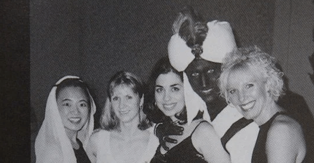 Photo surfaces of Justin Trudeau in brownface at Vancouver party in 2001