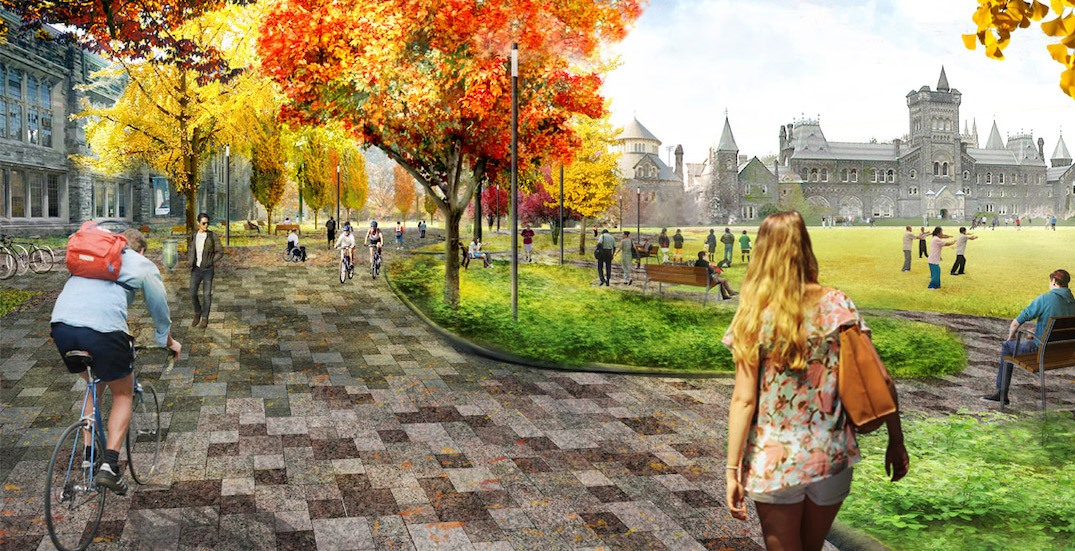 U of T proposing greener transformation to its downtown campus (RENDERINGS)
