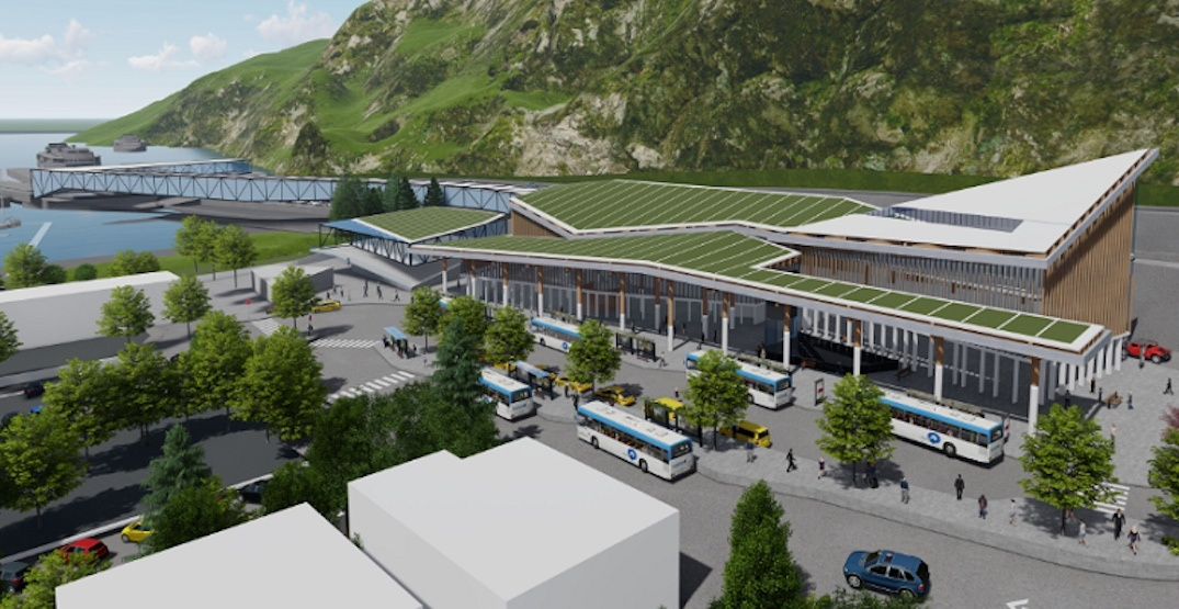 BC Ferries planning world-class hub upgrade for Horseshoe Bay terminal (RENDERINGS)