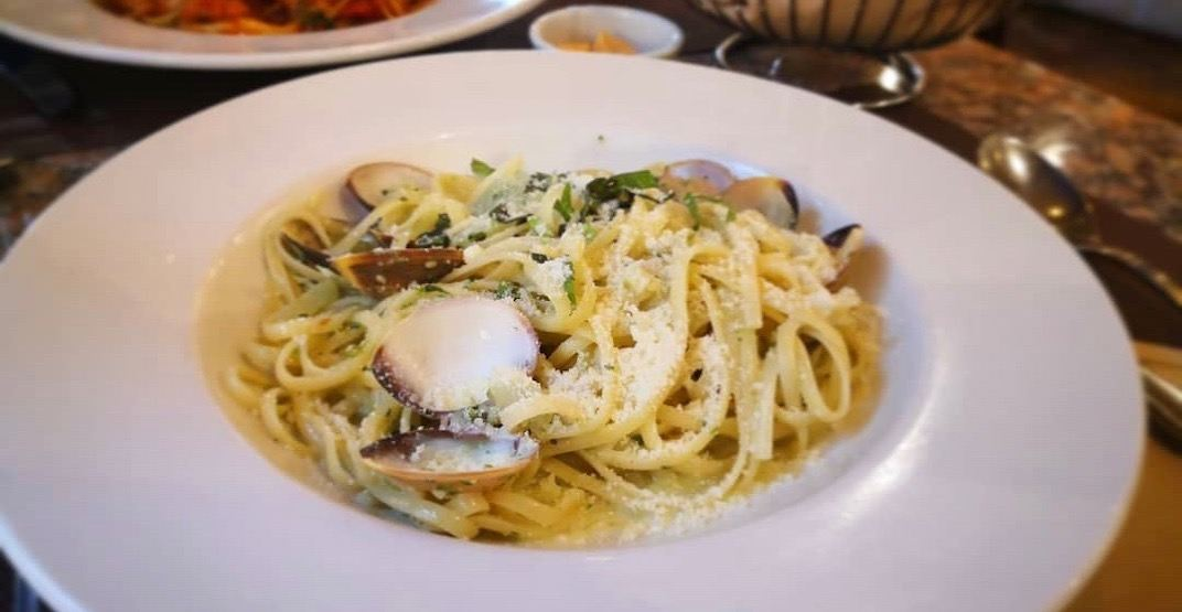 This Italian restaurant in Vancouver has quietly closed its doors