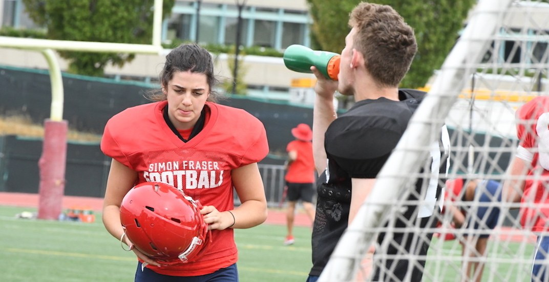 North Vancouver woman to make history with SFU Football this weekend