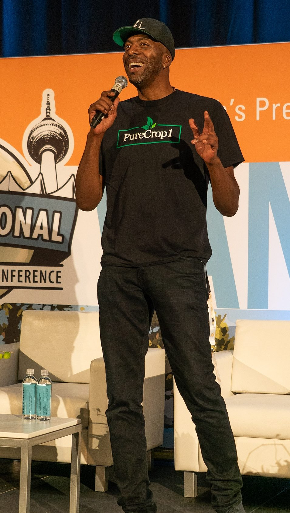 International Cannabis Business Conference John Salley
