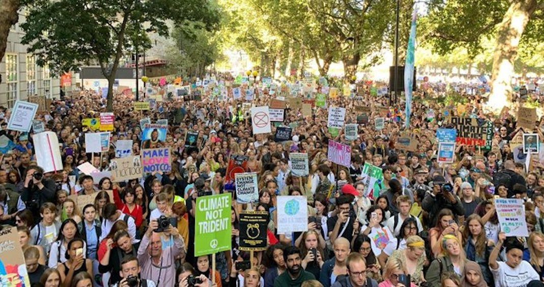 Millions hit the streets to join global climate strike (PHOTOS)