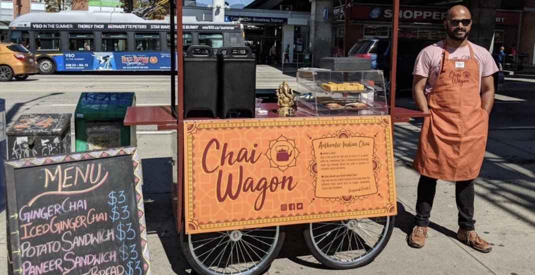 Vancouver's new 'Chai Wagon' creates connection over authentic Indian tea