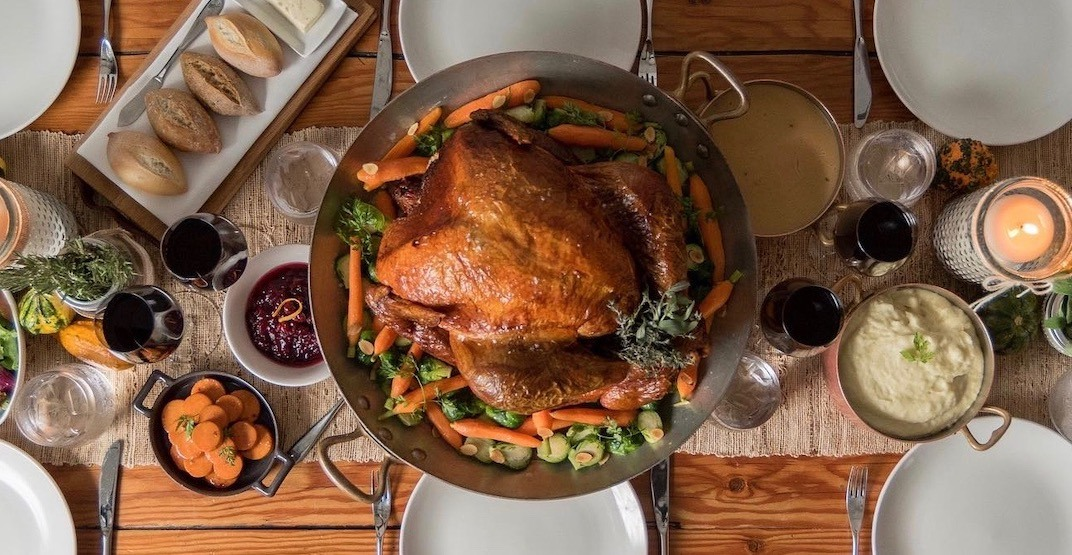 11 places to get Thanksgiving Dinner To-Go in Vancouver