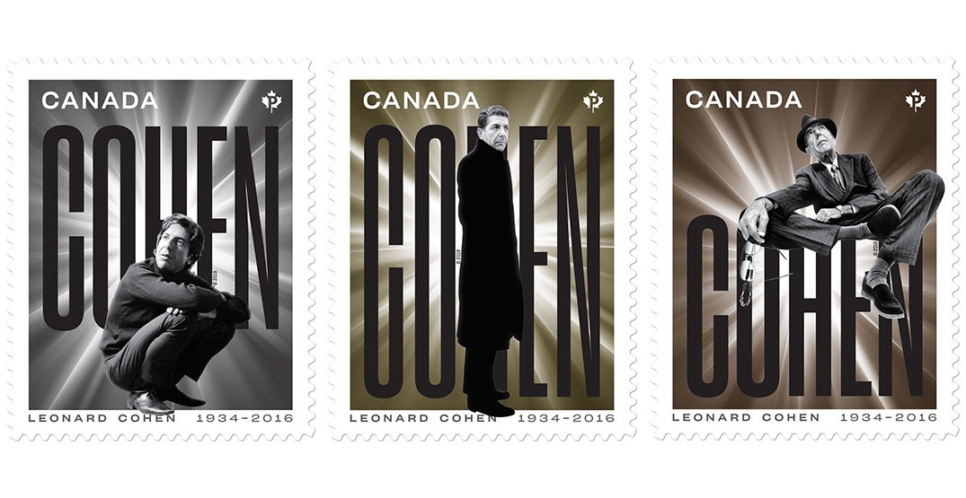 Canada Post unveils new stamps honouring Leonard Cohen