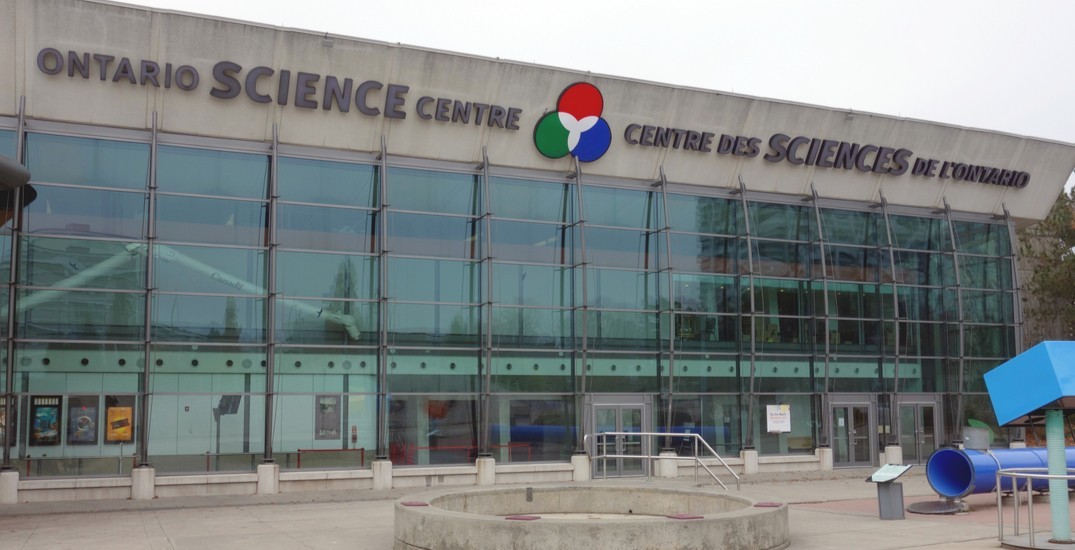 The Ontario Science Centre is offering FREE admission this weekend
