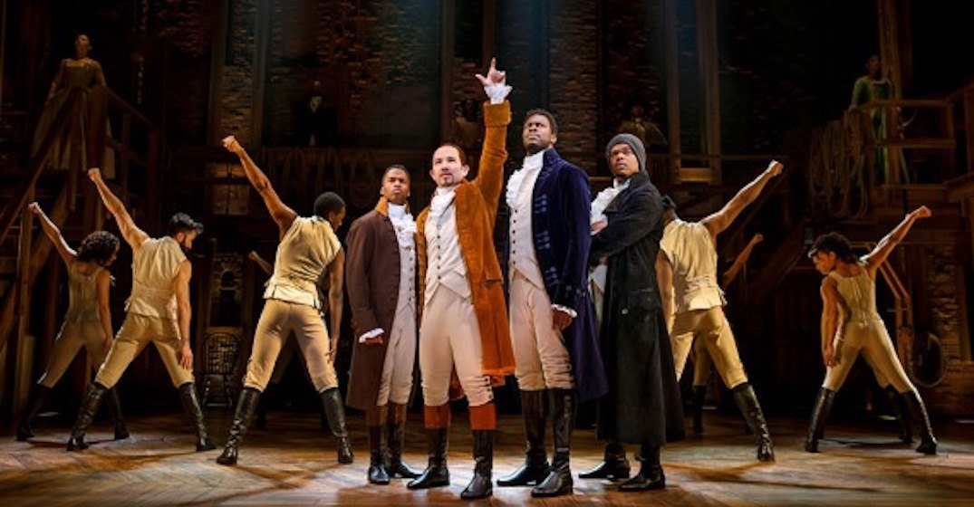 Here's when and where you can see Broadway hit Hamilton in Toronto