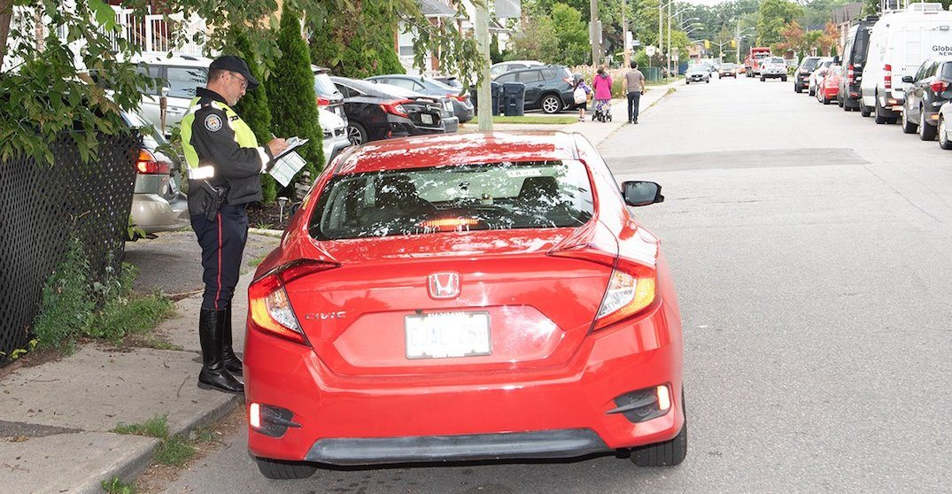 Police issue over 600 speeding tickets during Back to School safety blitz