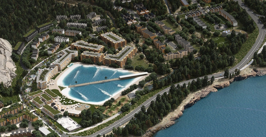 World-class surf park and resort village proposed for Squamish (RENDERINGS)
