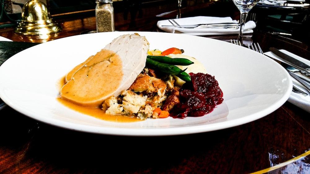 Thanksgiving Dinner Van 2019
