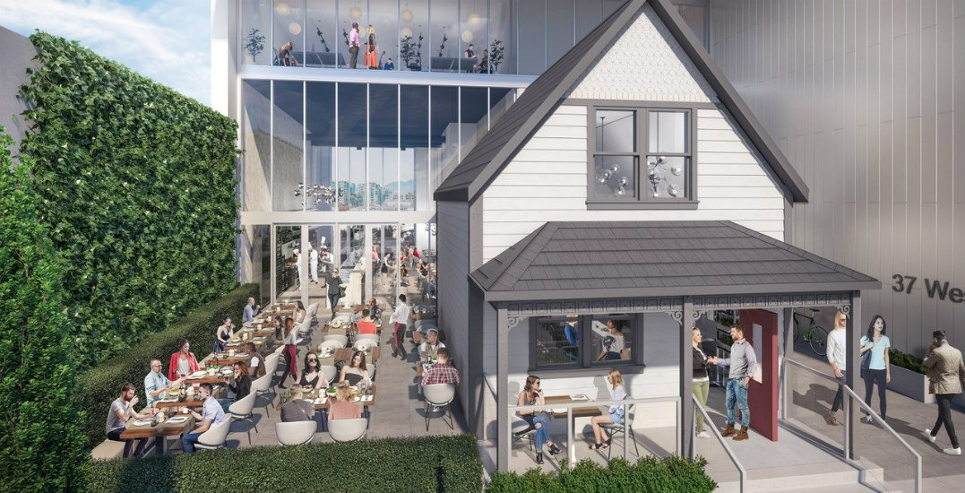 How this new office building saved a heritage home from demolition