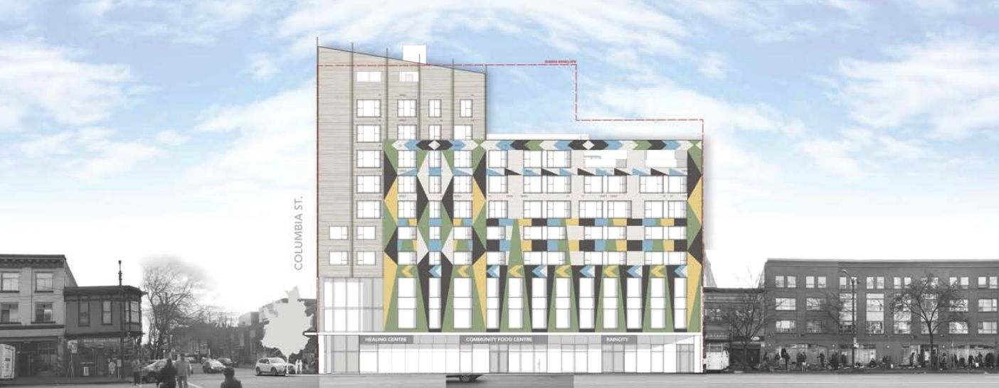 Design for new DTES social housing for Indigenous peoples revealed
