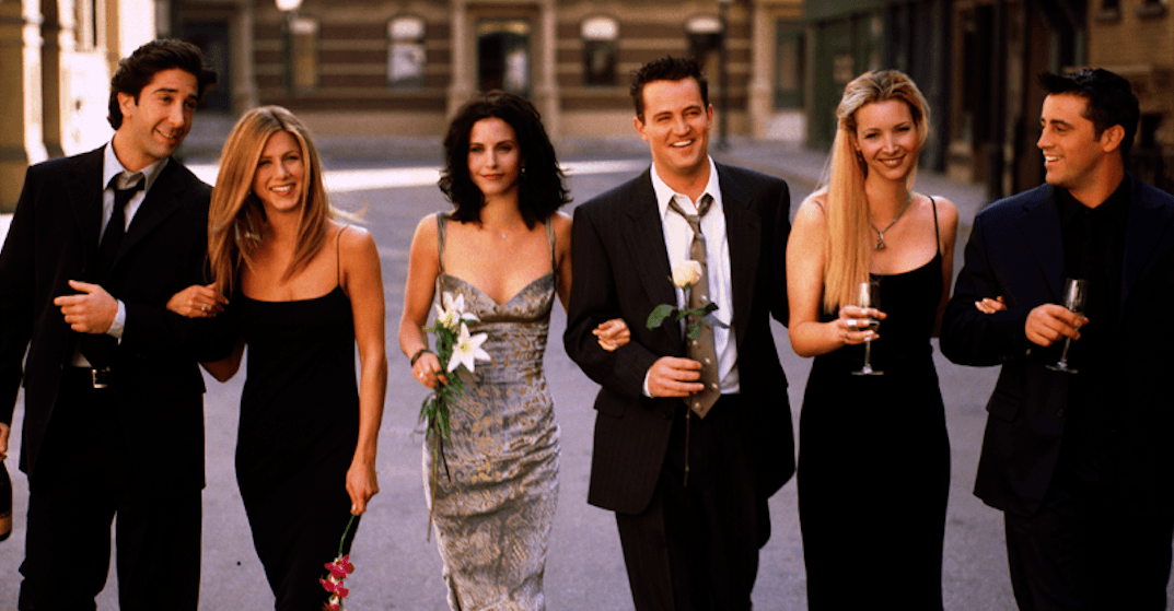You can watch select episodes of Friends on the big screen next week
