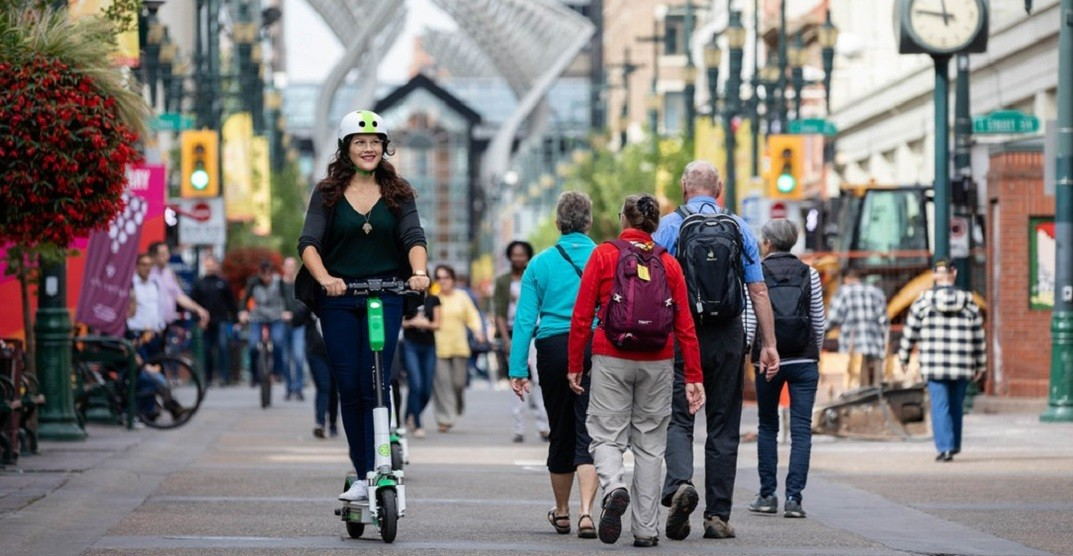 Here are the most interesting complaints the city received about e-scooters