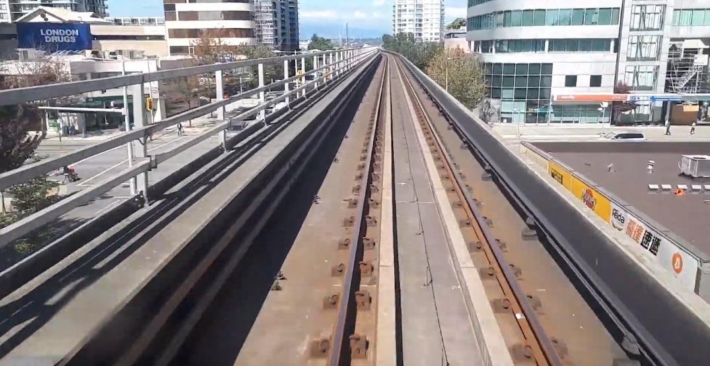 Canada Line single track