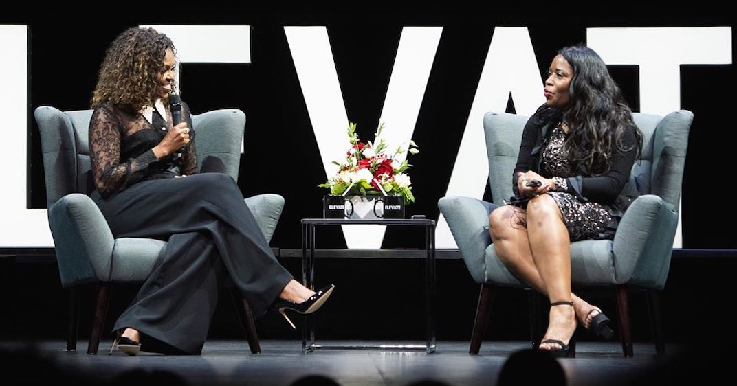 Michelle Obama spreads message of living a more purposeful life in Toronto (PHOTOS)