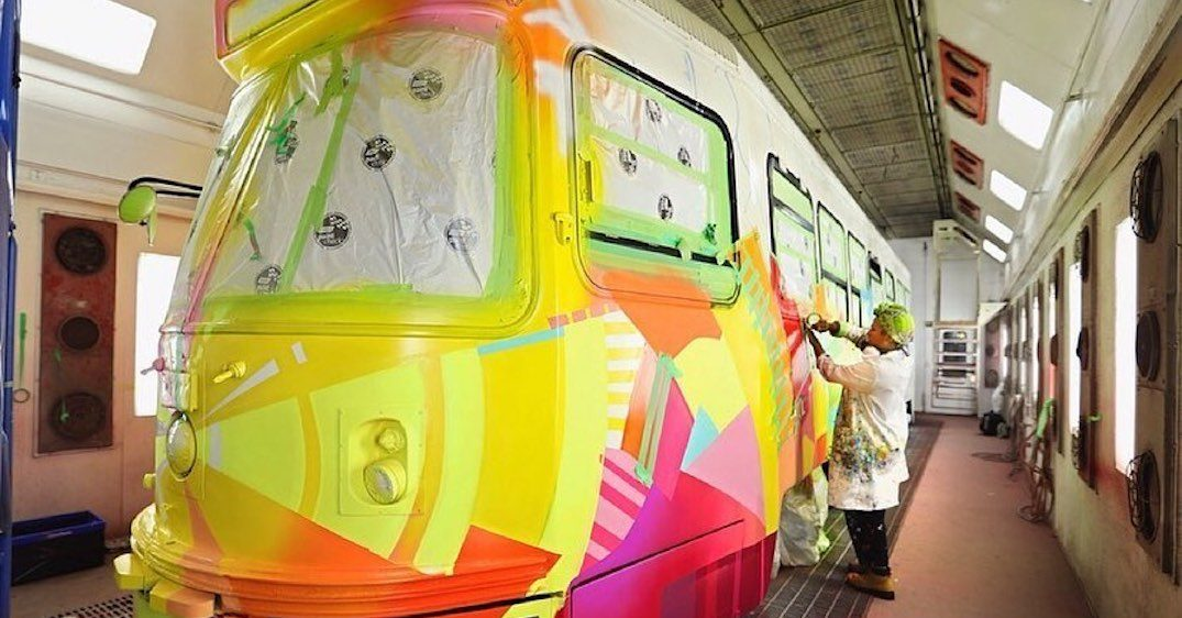 A colourful streetcar will be rolling through the city this weekend (PHOTOS)