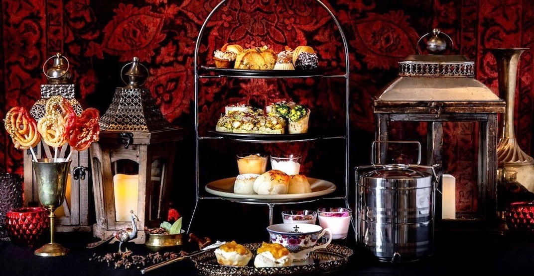 An Indian-themed afternoon tea just started in downtown Vancouver