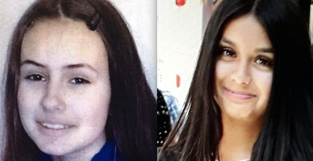 UPDATED: Coquitlam RCMP search for missing girls, aged 12 and 13