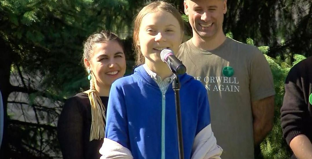 Greta Thunberg meets with Trudeau ahead of Climate Strike in Montreal (VIDEO)
