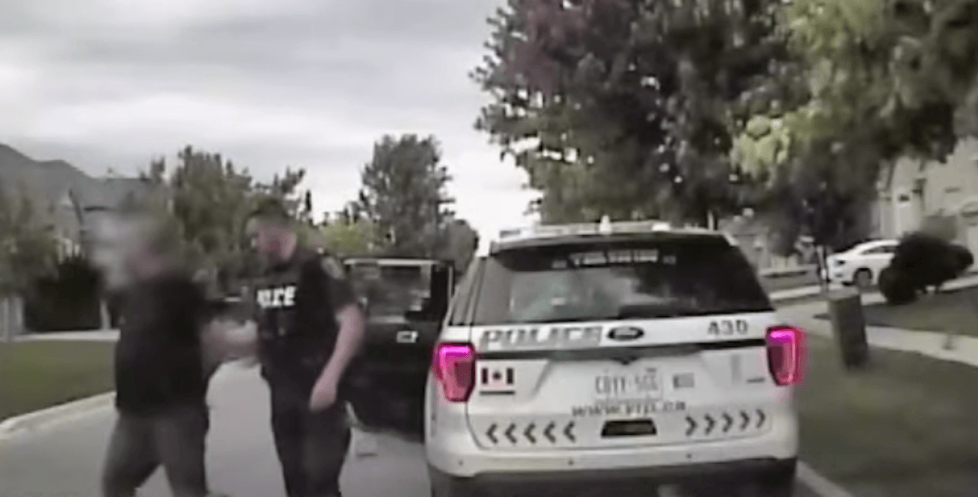 Father charged after allegedly trying to pick up his kids from school while intoxicated (VIDEO)