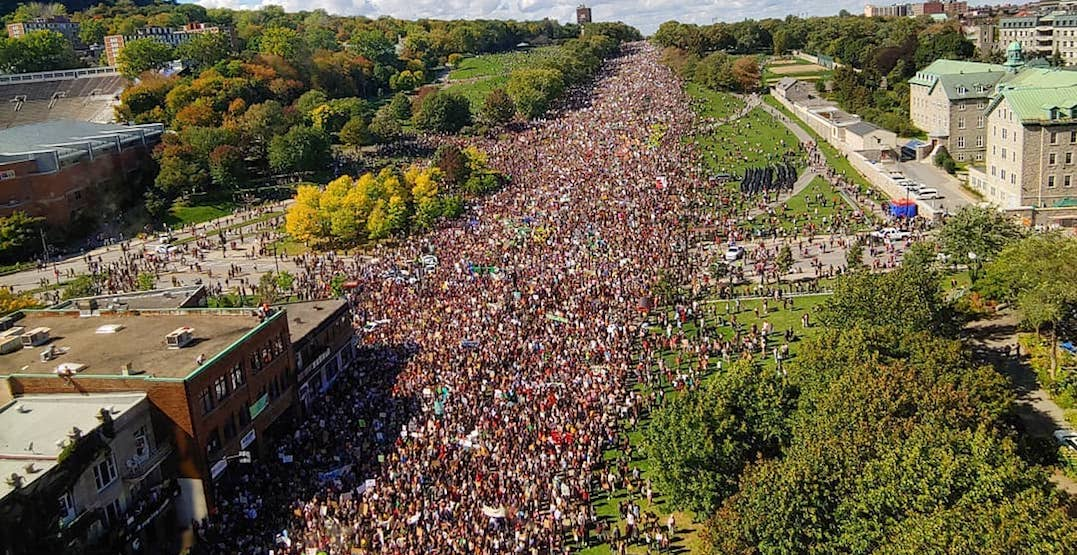 Take a look at Montreal's massive Climate Strike turnout (PHOTOS)