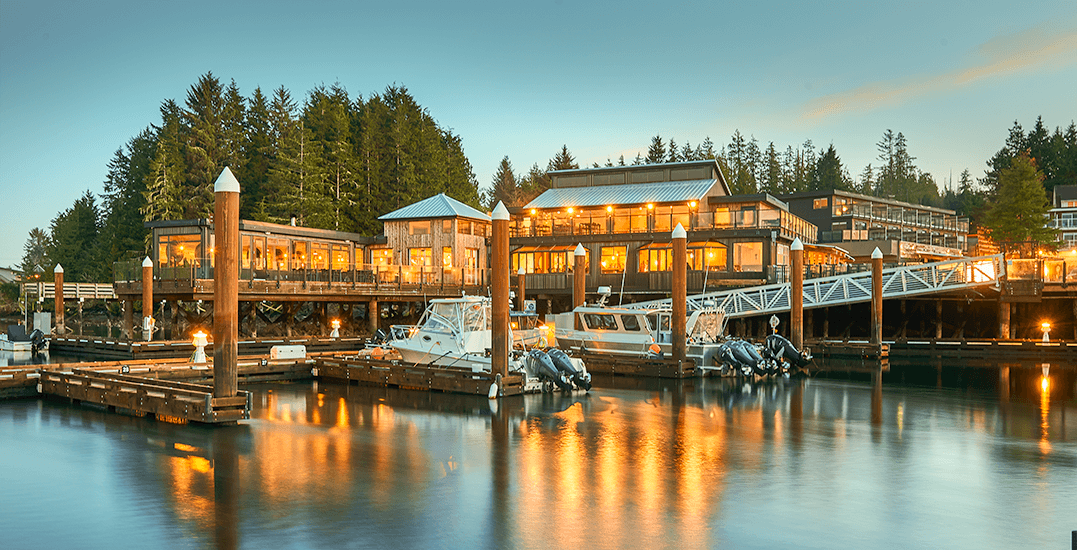 BC residents can get an exclusive fall discount at the Tofino Resort and Marina