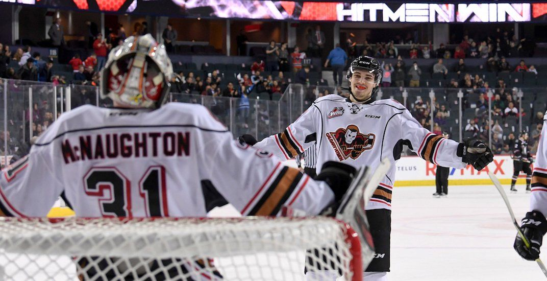 Calgary Hitmen are inviting fans to skate on Saddledome ice this weekend