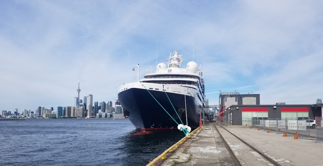A 7-deck luxury cruise ship docked in Toronto this weekend (PHOTOS)